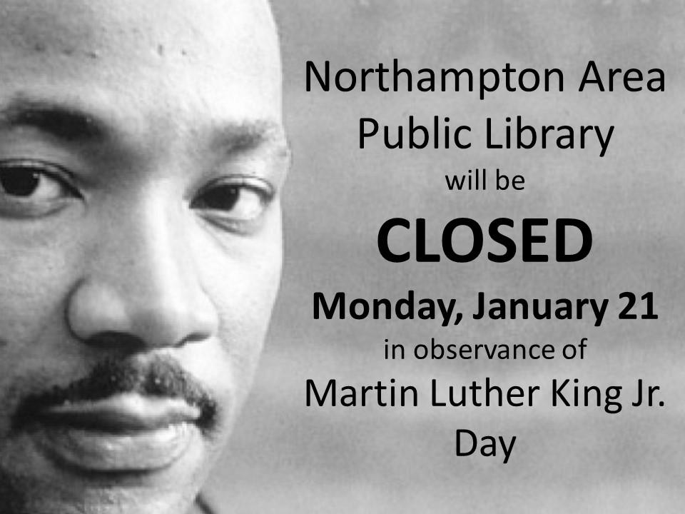 MLK Day Closed